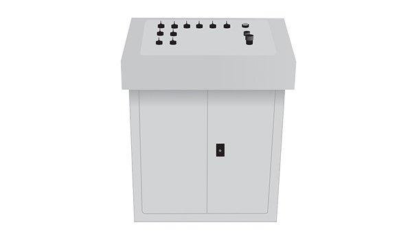 tipo de consola paneles eléctricos