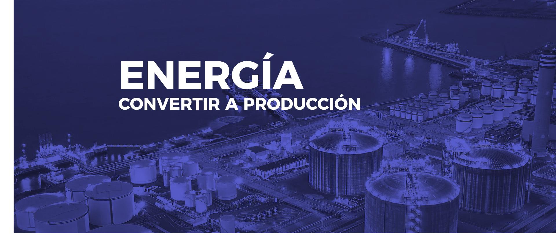transformar la energía para la producción